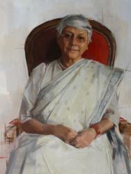Professor Aditi Lahiri by Rosalie Watkins